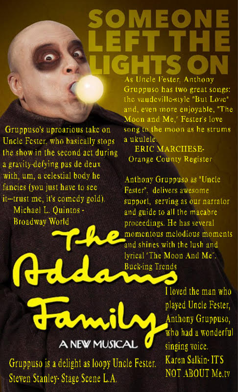 Anthony Gruppuso in Adams Family The Musical