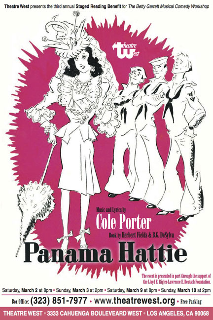 panama-Hattie-Poster-Los-Angeles