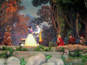 Anthony Gruppuso in snow white